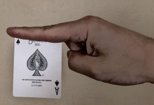 Card Throwing Grip 2