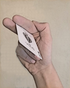 How to throw a card