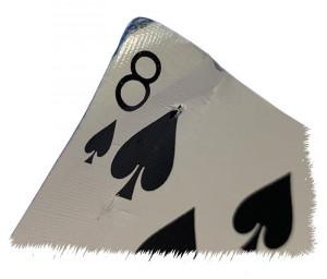 Bent Throwing Card