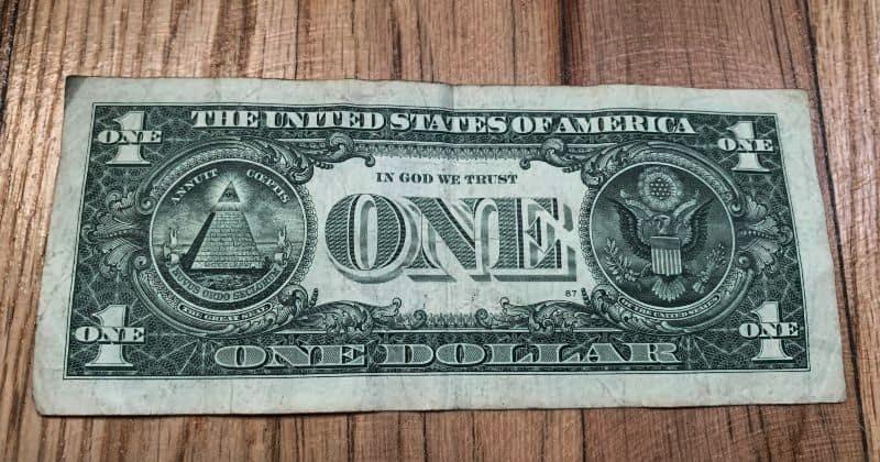 Dollar Bill Heart 1
