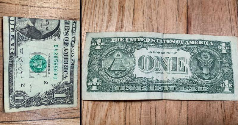 Dollar Bill Origami Heart 2
