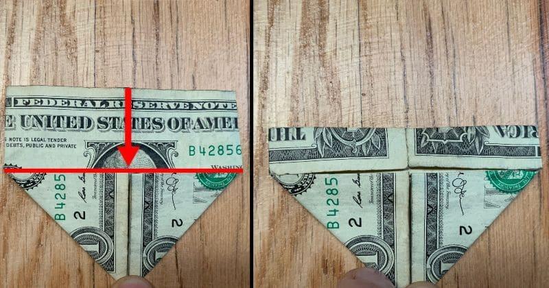 Dollar Bill Origami Heart 5