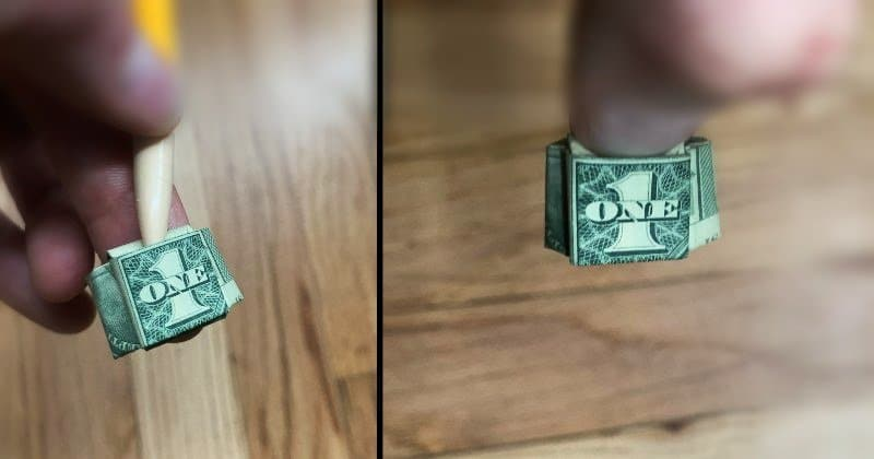Dollar Bill Ring 12