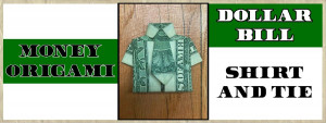 Dollar Bill Shirt with Tie