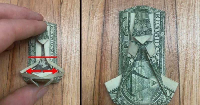 Dollar Bills Fold 10
