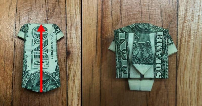 Dollar Bills Fold 12