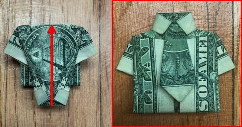 Dollar Bills Fold 13