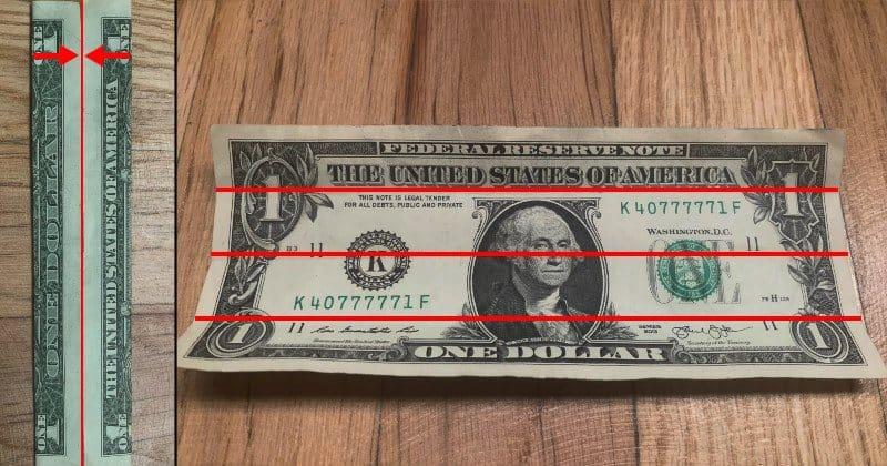Dollar Bills Fold 2