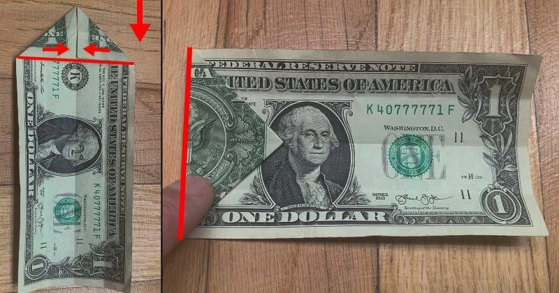 Dollar Bills Fold 3