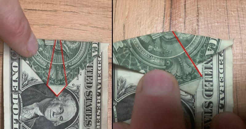 Dollar Bills Fold 4