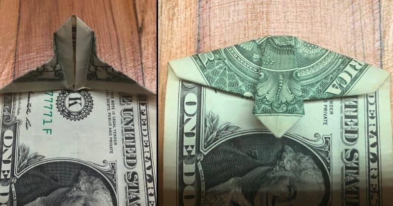 Dollar Bills Fold 5