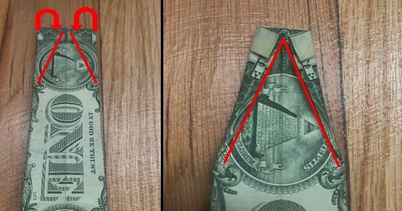Dollar Bills Fold 8