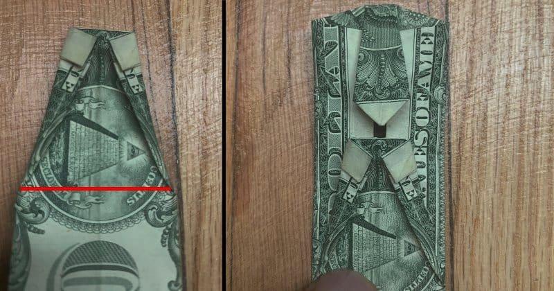 Dollar Bills Fold 9