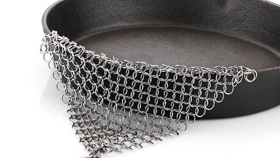 Best Cast Iron Accessory -Chainmail Scrubber