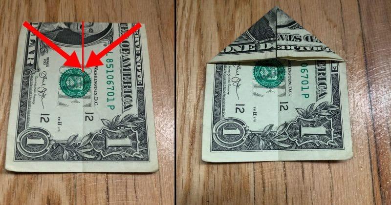 Dollar Bill Origami Bow Tie 3
