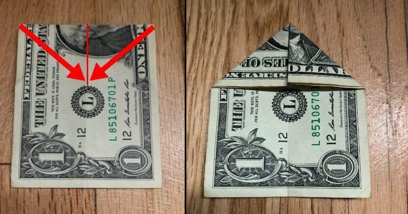 Dollar Bill Origami Bow Tie 4