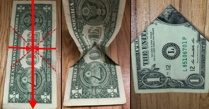 Dollar Bill Origami Bow Tie 5
