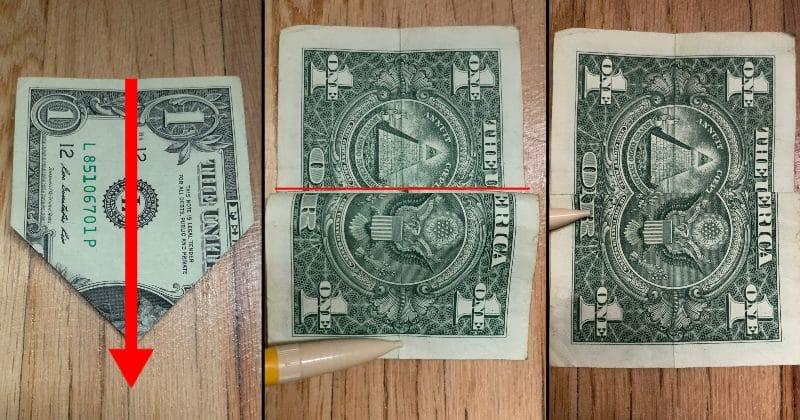 Dollar Bill Origami Bow Tie 6