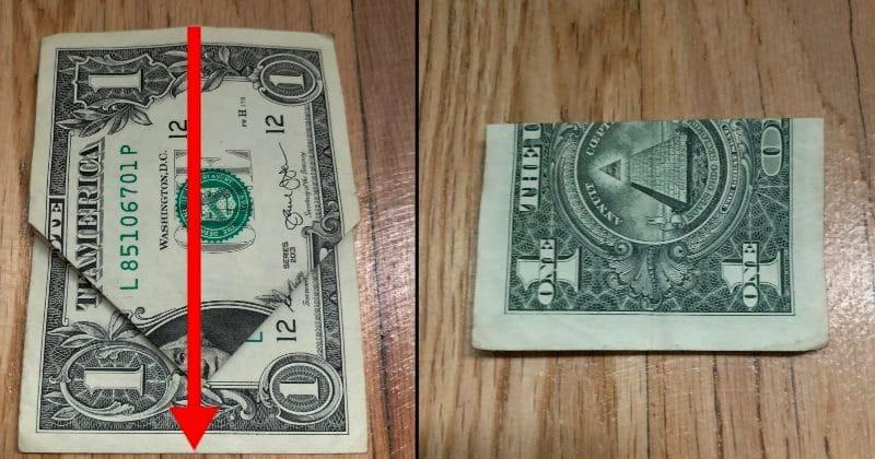 Dollar Bill Origami Bow Tie 7