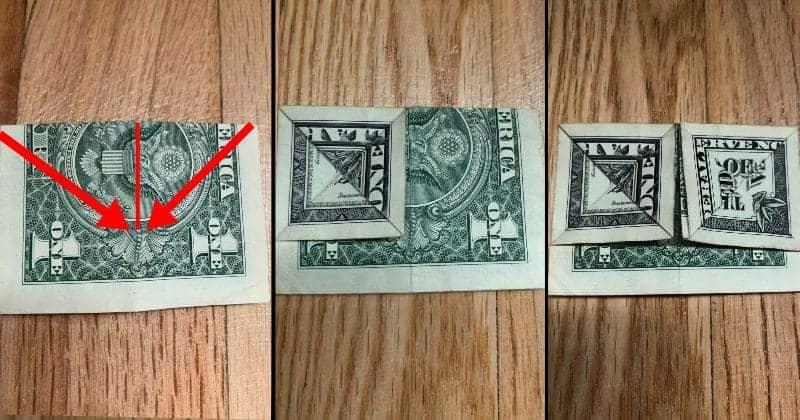 Dollar Bill Origami Bow Tie 8