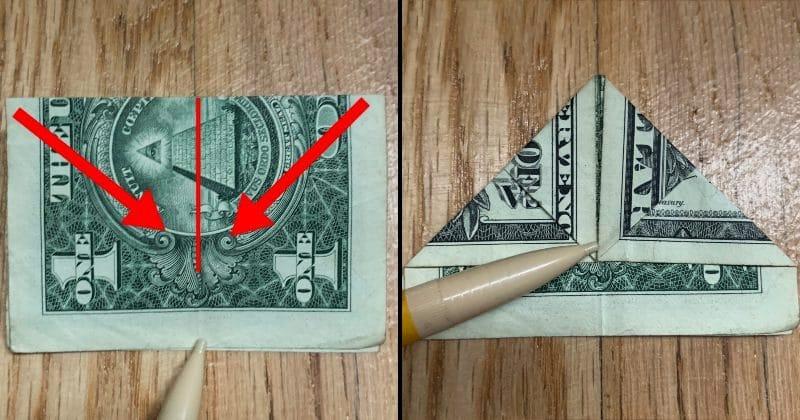 Dollar Bill Origami Bow Tie 9