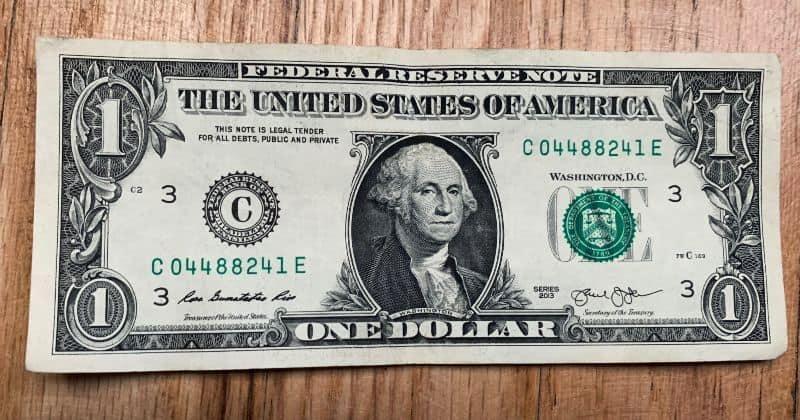Dollar Bill Origami Dress 1