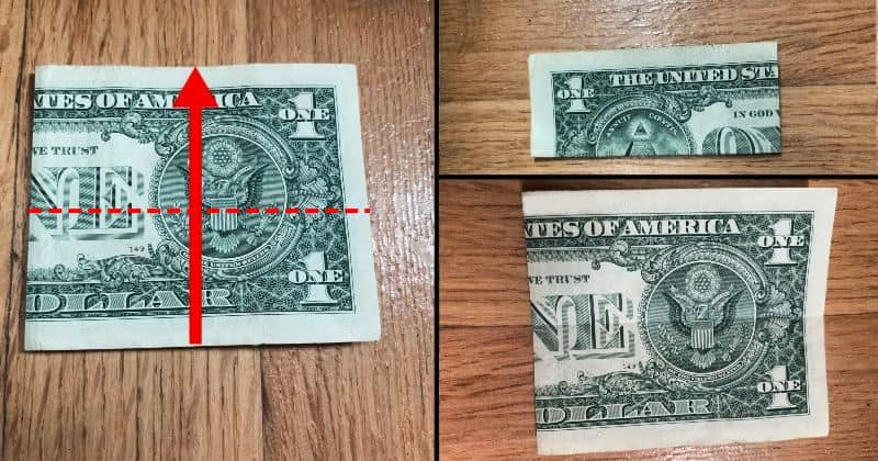 Dollar Bill Origami Dress 2