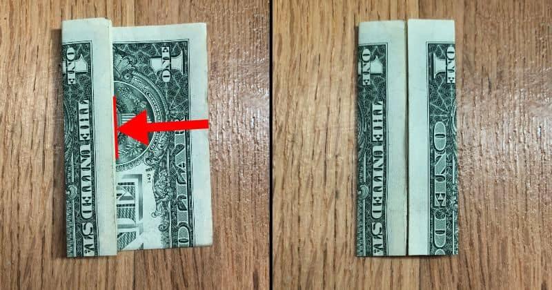 Dollar Bill Origami Dress 3