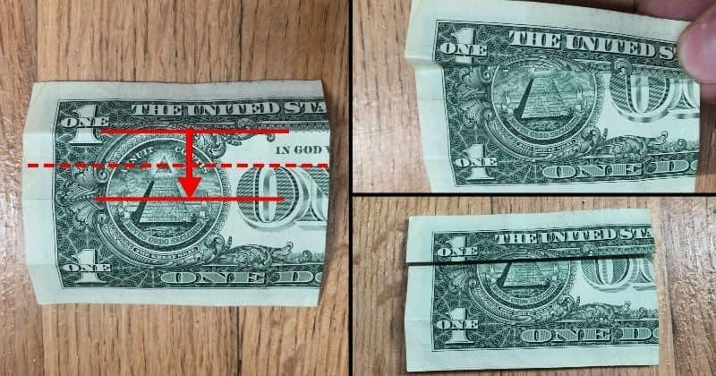 Dollar Bill Origami Dress 4