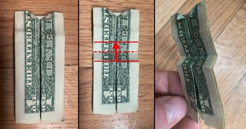 Dollar Bill Origami Dress 7