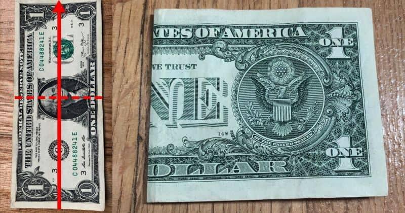 Dollar Bill Origami Dress a1