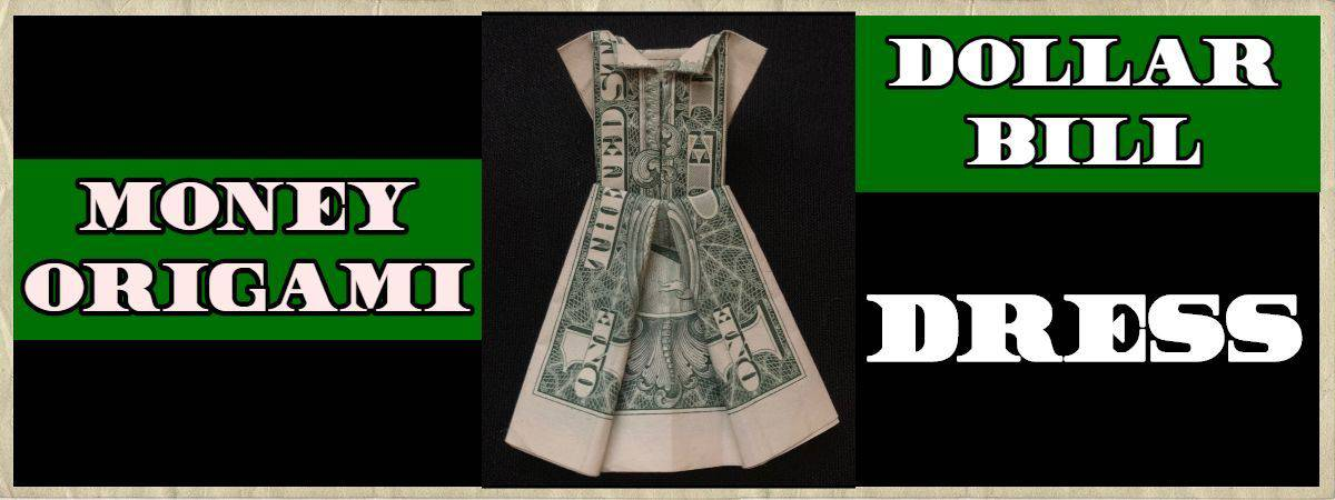 Dollar Bill Origami Dress