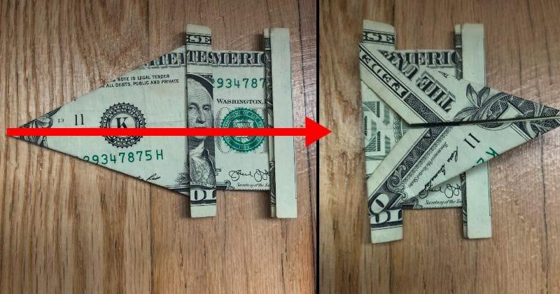 Dollar Bill Origami Elephant 13