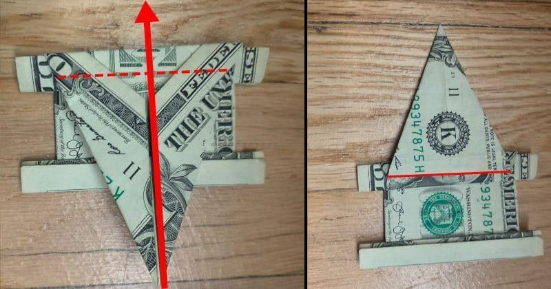 Dollar Bill Origami Elephant 14