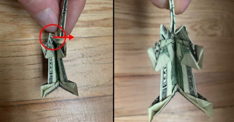 Dollar Bill Origami Elephant 18