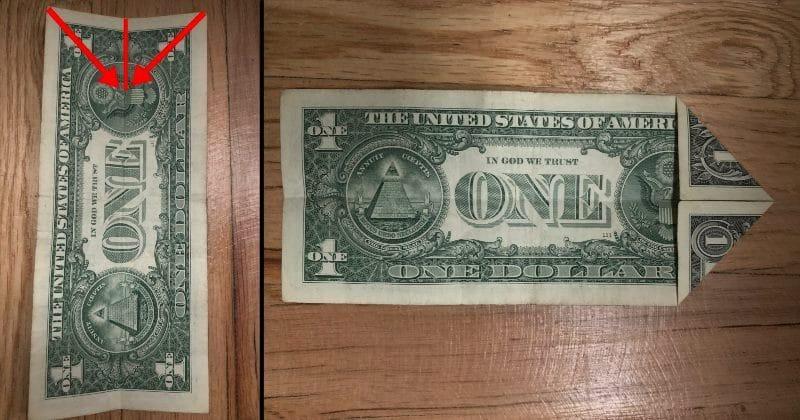 Dollar Bill Origami Elephant 2