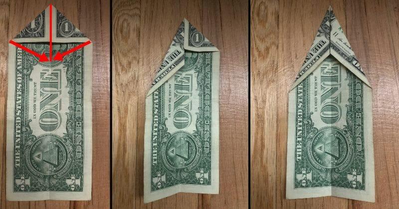 Dollar Bill Origami Elephant 3