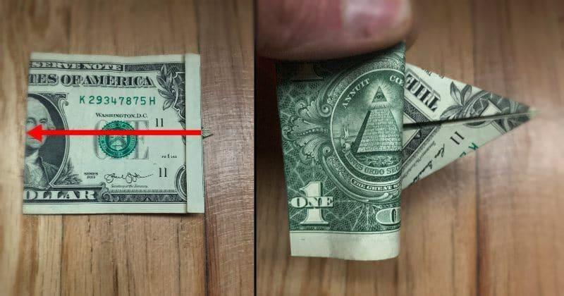 Dollar Bill Origami Elephant 6a