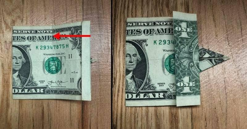 Dollar Bill Origami Elephant 7
