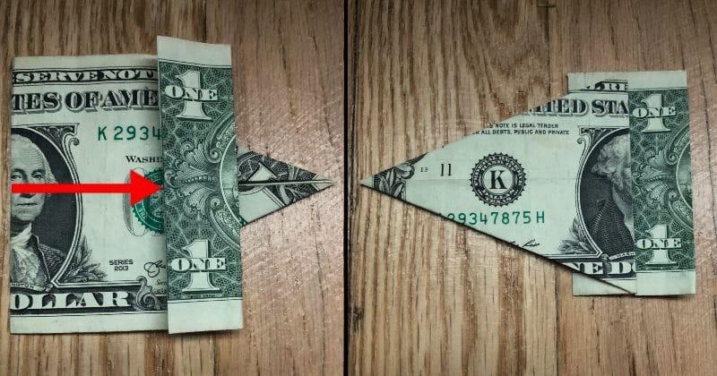 Dollar Bill Origami Elephant 8