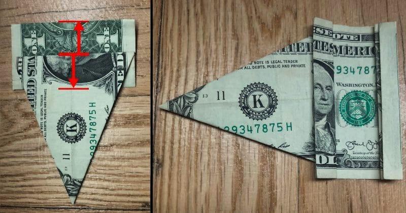 Dollar Bill Origami Elephant 9