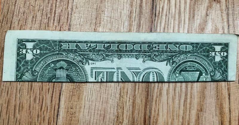 Dollar Bill Origami Fish 2