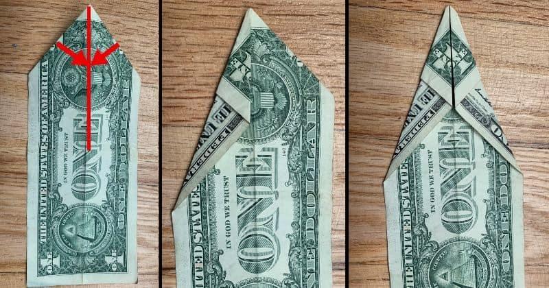 Dollar Bill Origami Fish 4