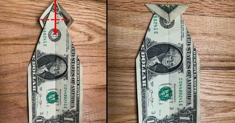 Dollar Bill Origami Fish 5