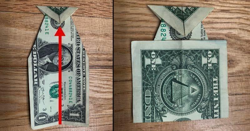 Dollar Bill Origami Fish 6
