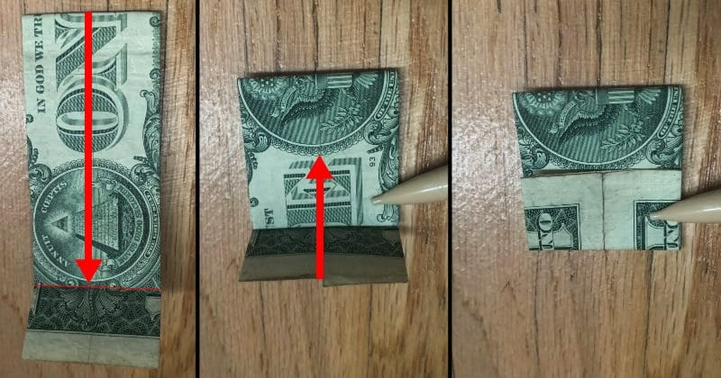 Dollar Bill Origami Guitar 6