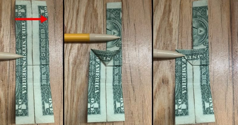 Dollar Bill Origami Guitar 8