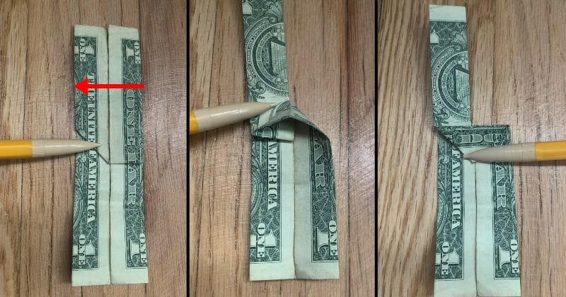 Dollar Bill Origami Guitar 9