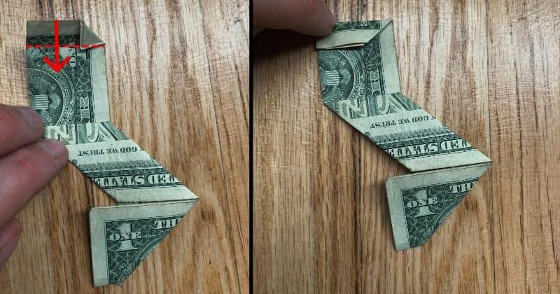 Dollar Bill Origami Ninja Star 10