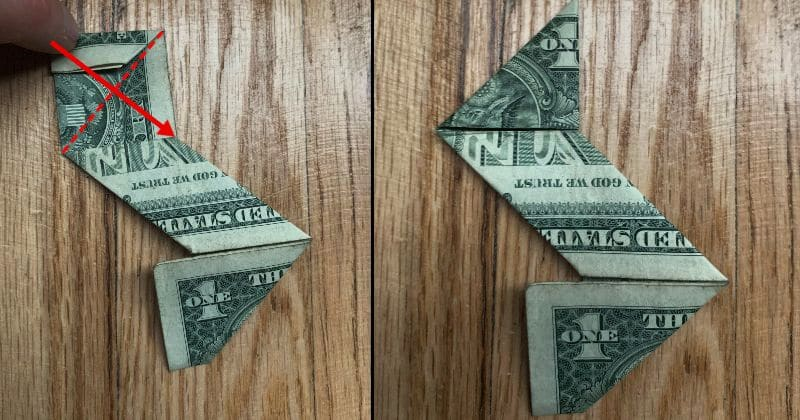 Dollar Bill Origami Ninja Star 11